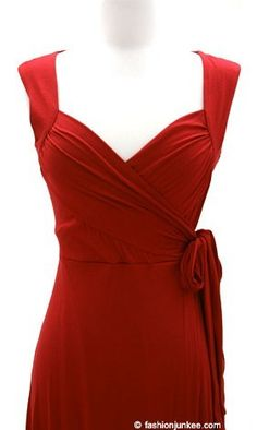 red wrap dress things-to-purchase