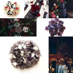 This mysterious colour theme is ideal for an autumn or winter wedding😍 #bridetobe #bride #weddingday #love #confetti #confettimoment Gothic Wedding, Color Themes, Burlap Wreath, Mysterious, Confetti, Wedding Day, Wreaths, Autumn, In This Moment