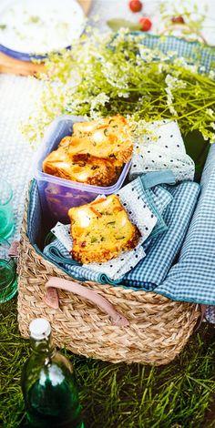 #Recette végétarienne de carrot cake salé ! Parfait à emporter en pique nique ou pour l'apéritif !