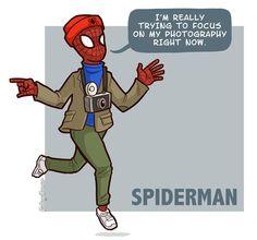Hipster Spiderman