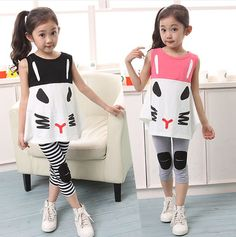 Cheap Clothing Sets on Sale at Bargain Price, Buy Quality pants floral, pants children, pants office from China pants floral Suppliers at Aliexpress.com:1,Collar:O-Neck 2,fabric:blending 3,Gender:Girls 4,Material:Cotton 5,number:2 pieces