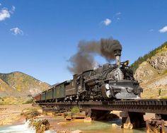 Durango & Silverton RR: I vote for a steampunk flashmob. Anyone with me?