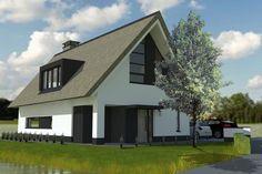 Nieuwbouw woning Bleiswijk, Lansingerland Building A House, Shed, Villa, New Homes, Outdoor Structures, Exterior, House Design, City, Mediterranean Houses