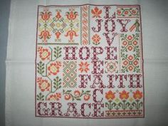 ManuelaS Cross Stitch, Quilts, Blanket, Rugs, Words, Home Decor, Farmhouse Rugs, Punto De Cruz, Decoration Home