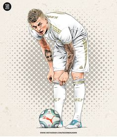 Football Design, Football Art, World Football, Varane Real Madrid, Eden Hazard Wallpapers, Football Player Drawing, Paris Saint Germain Fc, Real Madrid Wallpapers, Real Madrid Football Club