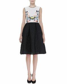 Faris+Full+Floral-Top+Dress+by+Erdem+at+Neiman+Marcus.