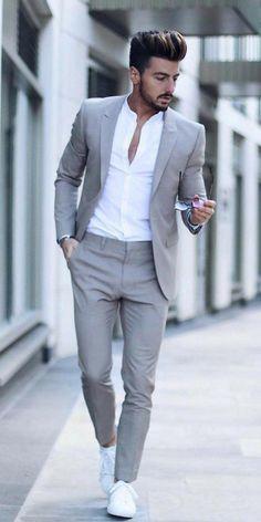 11 Smart Fashion Tips For Smart Men - Short and Cuts Hairstyles - Gentleman's Essentials Intl. - 11 Smart Fashion Tips For Smart Men - Short and Cuts Hairstyles - Gentleman's Essentials Intl. Blazer Outfits Men, Mens Fashion Blazer, Stylish Mens Outfits, Suit Fashion, Fashion Tips, Sneakers Fashion, Latest Fashion, Fashion Styles, Curvy Fashion