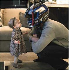 Jimmie Johnson and Evie