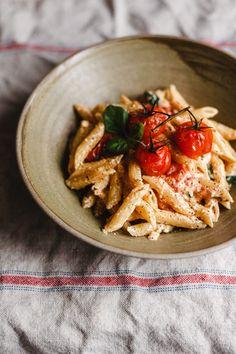 fetapasta-2438 Feta Pasta, Penne, Kung Pao Chicken, Ethnic Recipes, Food, Internet, Essen, Meals, Yemek