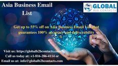 B2b Email Marketing, Email Id, Contact List, Business Emails, Things That Bounce, Asia, How To Remove, Fresh