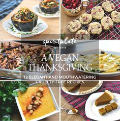 A Vegan Thanksgiving: A Completely Plant-Based Menu with 12 Mouthwatering Recipes | SPIRITPLATE