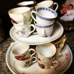 Tea cups for Della's party :)