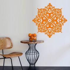 Wall Decal Vinyl Mural Sticker Art Decor Bedroom Yoga Kitchen Ceiling Mandala Menhdi Flower Pattern Ornament Om Indian Hindu Buddha (Z2876) StickersForLife http://www.amazon.com/dp/B00LN75VPI/ref=cm_sw_r_pi_dp_zYVfvb1NF6WBW