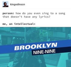 bu bu na na Brooklyn 9, Brooklyn Nine Nine Funny, Hunger Games, Johnlock, Destiel, Funny Memes, Jokes, Funny Quotes, Fandoms