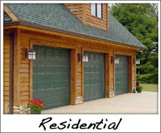Residential Garage Doors by Precision - Serving Baldwin, Hudson, Stillwater, and Menomonie, WI