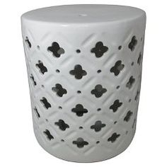 Threshold™ Ceramic Accent Table - Cream/Clover