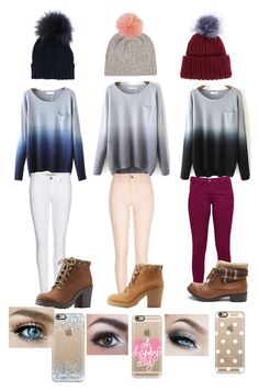 Cute sweater weather and beanies by hermione-granger-lover on Polyvore featuring River Island, Great Plains, Burberry, Charlotte Russe, Eugenia Kim, Inverni and Casetify