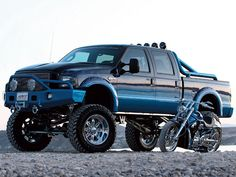 2006 Ford F250 Harley Davidson Truck And Motorcycle
