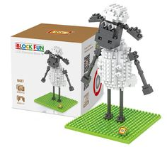 LOZ 230Pcs L - 9477 Shaun the Sheep Standing Version Building Block Toy for Enhancing Social Cooperation Ability-$4.32