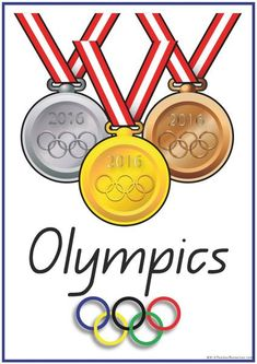 47 Olympic Games - Sports - Olympic Theme Word and Picture Cards, Includes heaps of ideas for Olympics lesson plans.