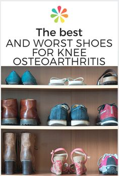Shoe choice matters if you have osteoarthritis in your knees. Find out which styles can help control osteoarthritis pain.  #shoesforosteoarthritis #everydayhealth | everydayhealth.com