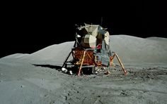 Apollo 17 LM Challenger, Taurus Littrow (lunar valley) is part of Apollo space program Images 91 - Apollo Space Program, Nasa Space Program, Moon Missions, Apollo Missions, Earth And Space Science, Earth From Space, Earth Memes, Apollo 11, Moon Landing