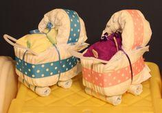 Homemade Baby Shower Centerpieces
