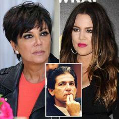 Kris Jenner And Robert Kardashian Young