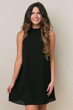 Desert Ties Black Dress | Dress Up