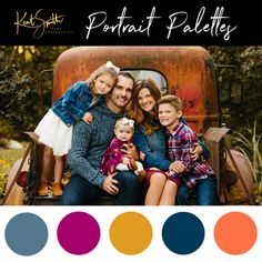 new pictures summer color palette family pictures style free : What an incredible day! COLOURlovers color palette software is bringing you our best picks of color palettes that may take your breath away. Fall Family Picture Outfits, Family Picture Colors, Family Portrait Outfits, Family Photos What To Wear, Large Family Photos, Fall Family Portraits, Summer Family Photos, Fall Family Pictures, Family Pics