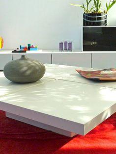 Ikea hack. La mesa de centro de Rocio: 7 mesas lack= 1 mesa de centro : x4duros.com