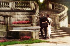 Bruiloft op naar het geluk