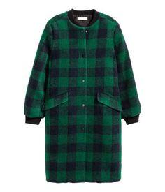Mantel hm grun