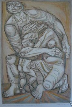 'monument to our uncertain future' etching by irving amen