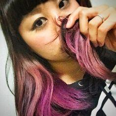 Call me MAI @mai_nkntmm New haircolor!Pi...Instagram photo | Websta (Webstagram)