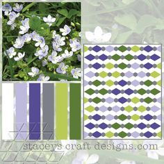 Colour Palette Veronica Filiformis by Stacey's Craft Designs