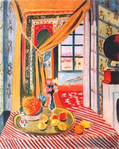 Interior with Phonograph, Henri Matisse 1924
