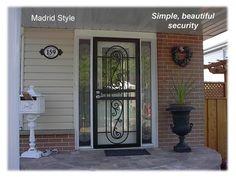 Page 11 Single Madrid style door www.MetalexDoors.com  #securitydoors #Door #security #Stormdoors #physicalsecurity #crimeprevention