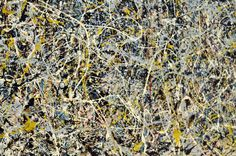 Jackson Pollock,  Number 1, 1949. ABSTRACT EXPRESSIONISM