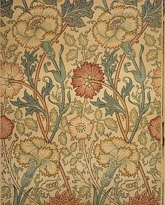 Pink and Rose, ( Wallpaper), ca 1890, William Morris. English (1834–1896)