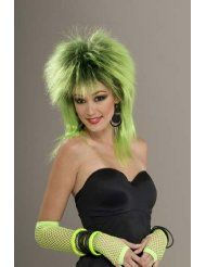Complete your look this Halloween with a stylish and comfortable wig that can be worn with a variety of costumes! 80s Costume, Costume Wigs, Under The Sea Costumes, 80s Punk, Green Wig, 80s Outfit, Glam Rock, Costume Accessories, Adulting