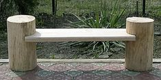 Driftwood Furniture, Bench Furniture, Wood Pallet Furniture, Garden Furniture, Rustic Outdoor Benches, Rustic Wood Bench, Outdoor Decor, Backyard Fort, Kids Backyard Playground