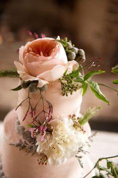 Pièce montée 2017  Roses  Billy Balls | Beau gâteau de mariage floral | #Cakes | Reese Moore Weddi