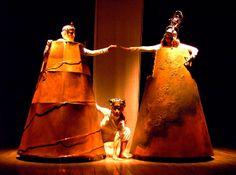 I Teatrini - E cadde addormentata con Adele Amato de Serpis, Valeria Luchetti, Melania Balsamo regia Giovanna Facciolo foto Renato Rizzardi