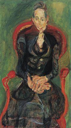 Chaim Soutine – Melanie, the Schoolteacher, c. 1922. Oil on canvas, 81.6x46 cm | Columbus Museum of Art, Columbus (Ohio)