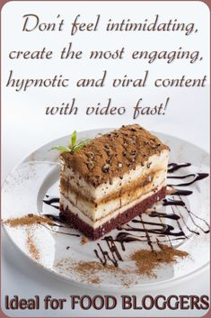 Food bloggers, do you know how to create hypnotic Content Videos fast. Improve your SEO using marketing tools and video content #foodblogger #foodstyling #videomarketing #video #marketingdigital #marketing #socialmedia
