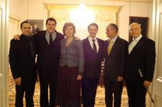 Performing for Irish President Mary McAlese and various dignatories at Aras An Uachtaran