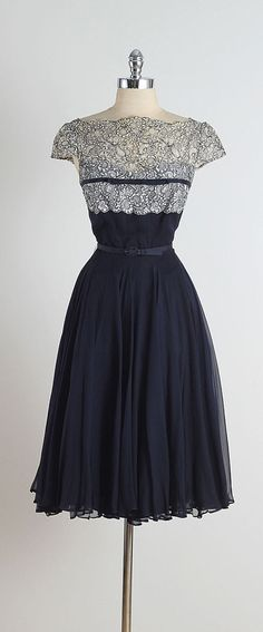 Terry Allan . vintage 1950s dress . vintage by millstreetvintage