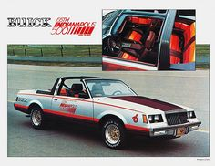 1981 Buick Regal Indy 500 Pace Car.