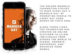 The Nelson Mandela Foundation #MandelaDay #NelsonMandela  #Leadership -Corey Engelen